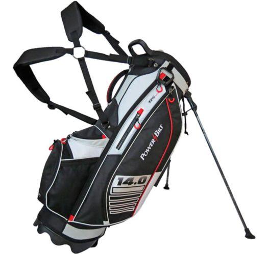 Sac de golf à support PowerBilt14.0, rouge, anthracite et noir Image de l'article