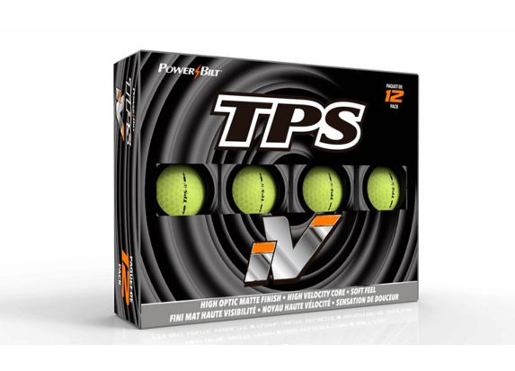 Balles golf PowerBilt TPS iV haute visibilité jaune mat, p12 Image de l'article