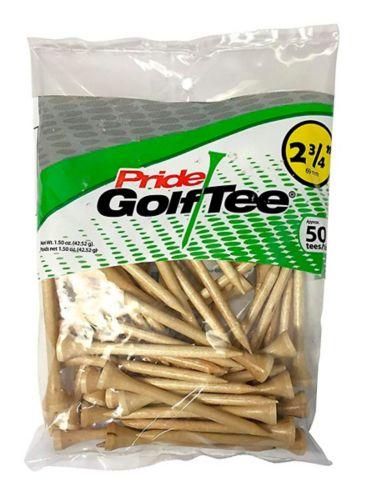 Pride Golf Tees, Natural, 2-3/4-in, 50-pk Product image