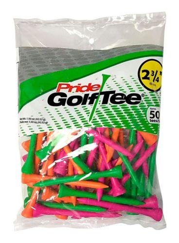 Pride Golf Tees, Citrus, 2-3/4-in, 50-pk Product image