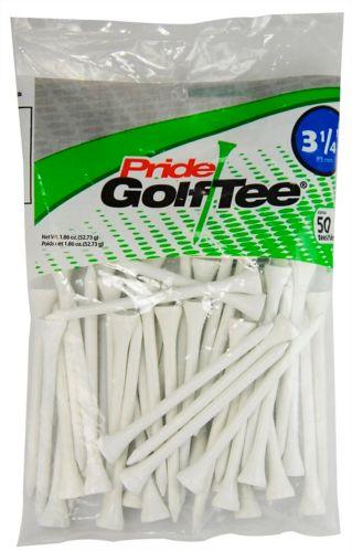 Tés de golf Pride Sports, blanc, 3 1/4 po, paq. 50 Image de l'article