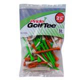 Pride Sports Golf Tees, Citrus, 2-1/8-in, 50-pk   Pride Sportsnull