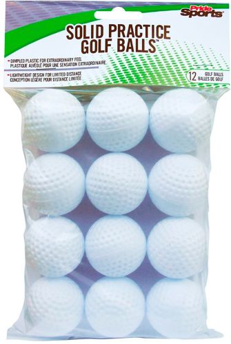 PrideSports Dimpled Practice Golf Balls, 12-pk Product image