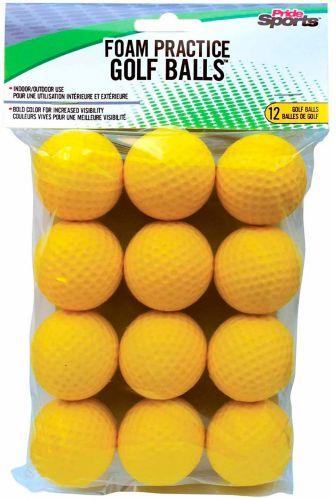 PrideSports Soft Practice Golf Balls, 12-pk Product image