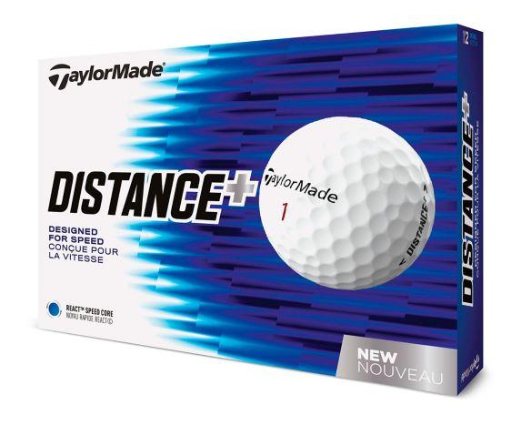 TaylorMade Distance+ Golf Balls, 12-pk