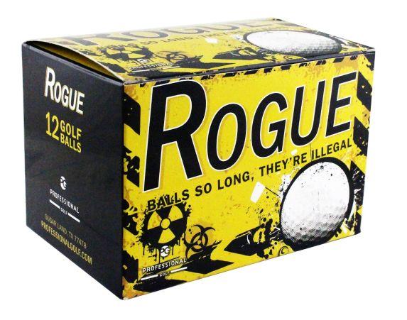 Balles de golf Rogue, blanc, paq. 12 Image de l'article