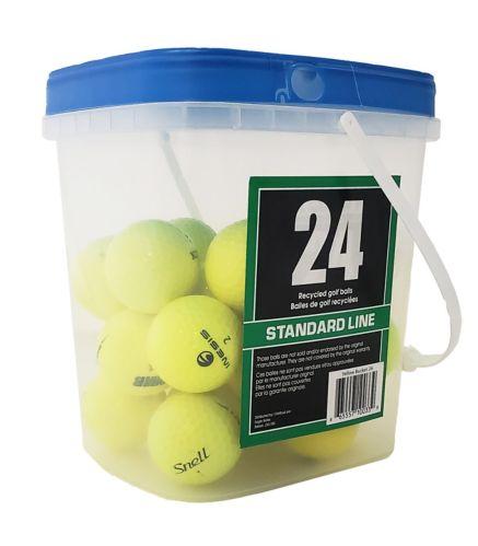 Balles de golf recyclées, jaune, paq. 24 Image de l'article