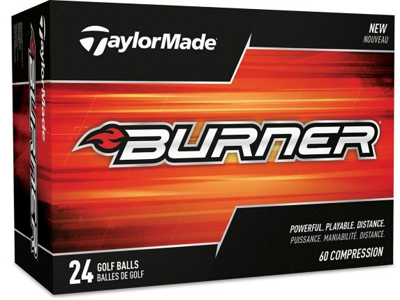TaylorMade Burner Golf Balls, 24-pk Product image