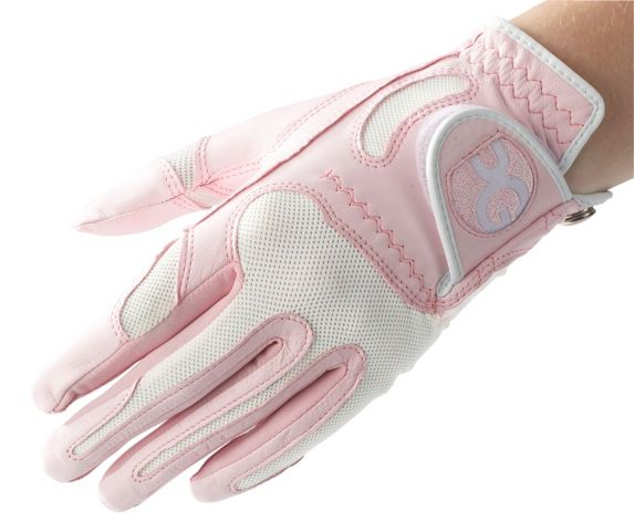 Lady Cabretta Golf Glove, Pink Product image