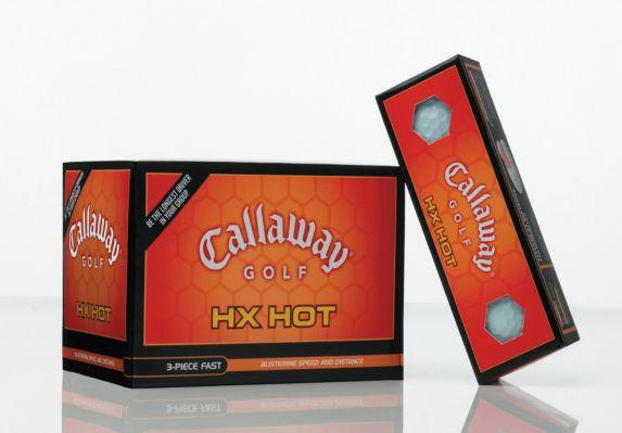 Balles de golf Callaway HX Hot ¿07, blanc, paq. 12 Image de l'article