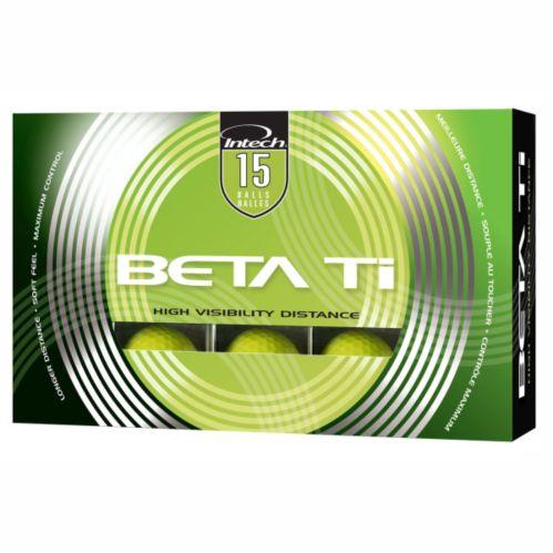 BETA TI Distance Golf Balls, Yellow, 15-pk Product image