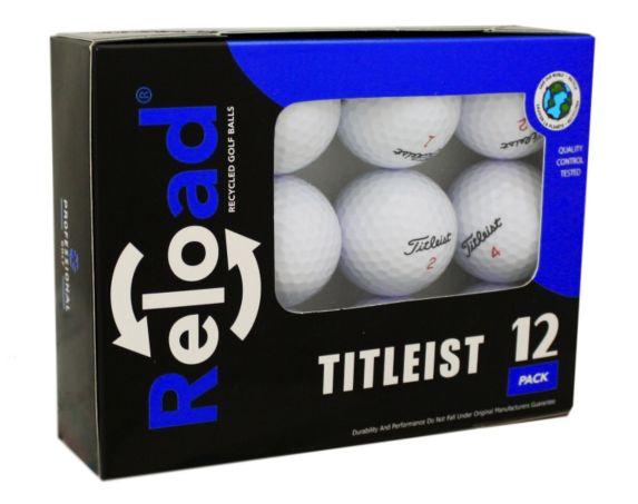 Balles de golf recyclées Reload Titleist, paq. 12 Image de l'article