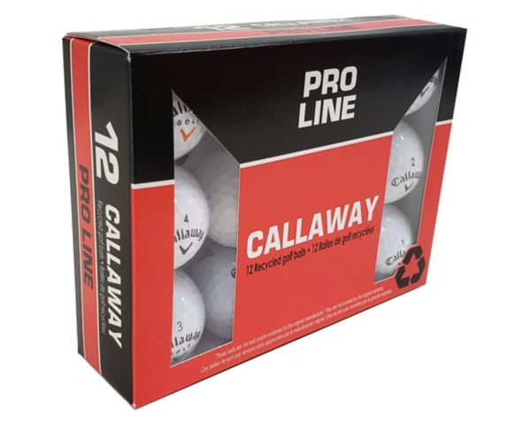 Econo Callaway Recycled Golf Balls, 12-pk Product image