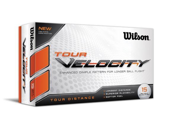 Balles de golf Wilson Tour Velocity Distance, blanc, paq. 15 Image de l'article