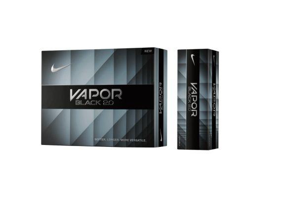 Balles de golf Nike Vapor Black, blanc, paq. 12 Image de l'article