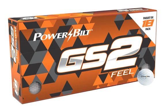 Balles de golf PowerBilt GS2, paq. 18 Image de l'article