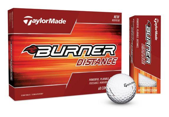 TaylorMade Burner Distance Golf Balls, 12-pk Product image