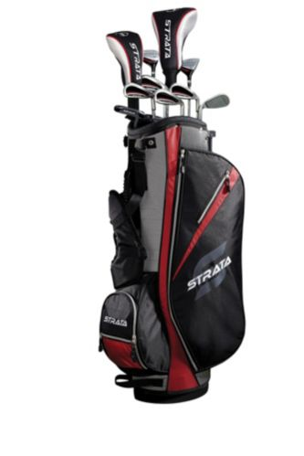 Sac et accessoires de golf Strata, hommes, 13 pièces Image de l'article