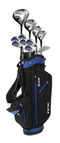 Sac avec support et bâtons de golf Ram RX pour hommes Image de l'article
