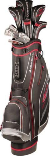 Sac avec support et bâtons de golf pour hommes Adams Speedline, 11 pces Image de l'article