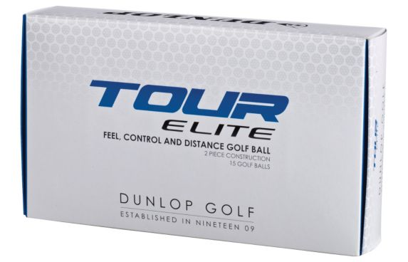Balles de golf Dunlop Tour Elite, paq. 15 Image de l'article