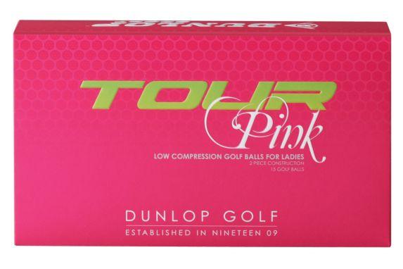 Balles de golf Dunlop Tour, rose Image de l'article
