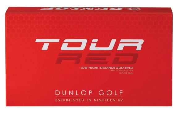 Balles de golf Dunlop Tour, rouge Image de l'article