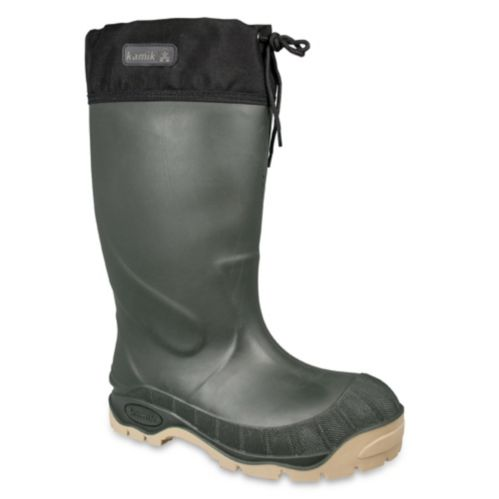 Kamik Men's Mammoth Lined Rubber Boots Product image