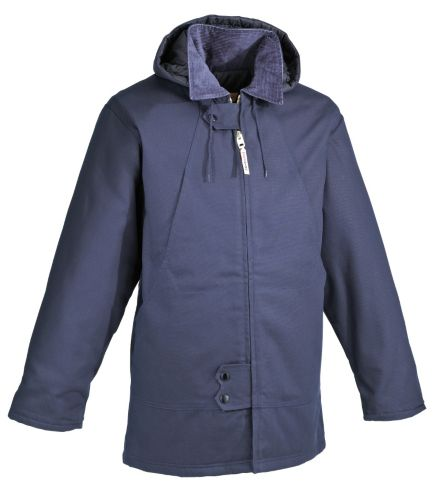 Work King Insulated Duck Hydro Parka with Hood, Navy Product image