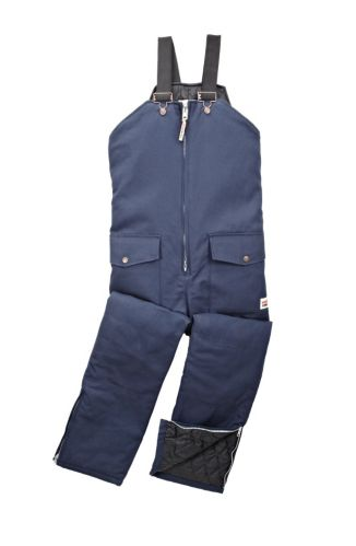 Work King Insulated Duck Bib Overalls, Navy Product image