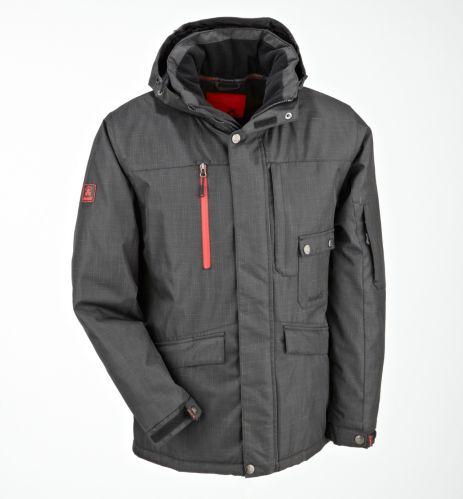 Men's Kamik Insulated Jacket, Black Product image