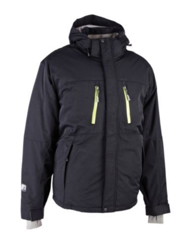 Broadstone Men's Winter Ski Jacket, Black Product image