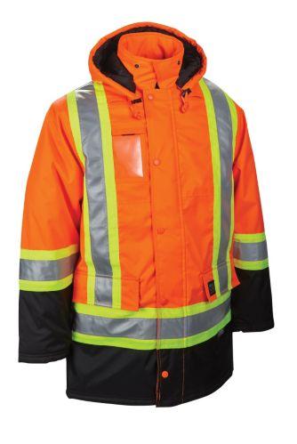 Parka orange haute visibilité Work King Image de l'article