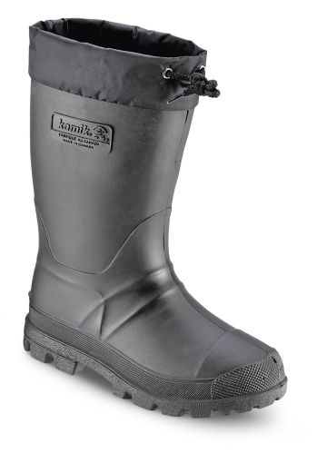 Kamik Boy's Ramrod Boots with Liners, Black Product image