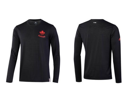 Adidas COC Long Sleeve Shirt, Black Product image