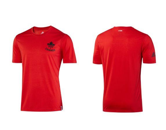 Adidas COC Short Sleeve Shirt, Red Product image