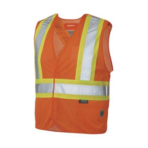 Veste orange haute visibilité Work King Image de l'article