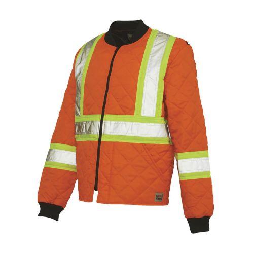 Veston orange haute visibilité Work King Image de l'article
