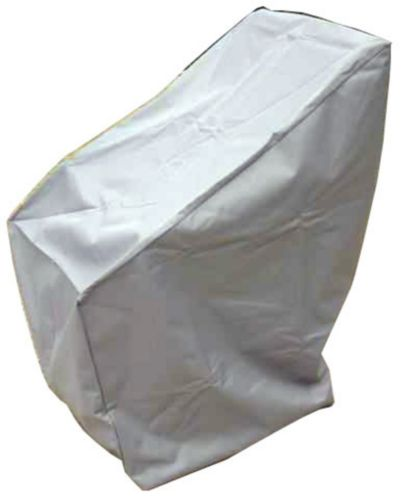 High Back Chair Cover, Grey Product image