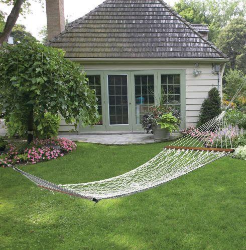 Balançoire hamac en cordage à suspendre For Living Image de l'article
