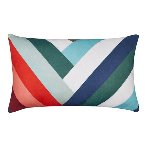 CANVAS Chevron Lumbar Pillow Product image