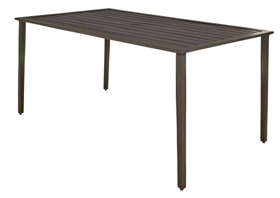 Monterey Collection Steel Slatted Patio Table Product image