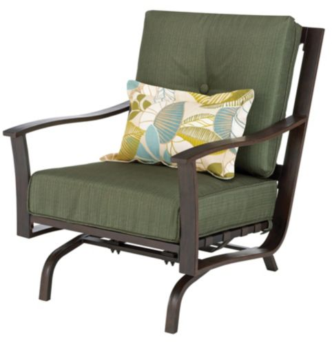 Monterey Collection Steel Cushion Action Patio Armchair Product image
