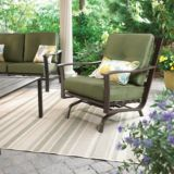 Monterey Collection Steel Cushion Action Patio Armchair | FOR LIVINGnull