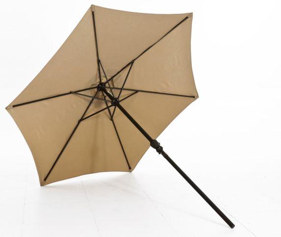 Parasol de marché CANVAS, brun, 8 pi Image de l'article