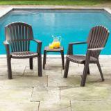 Fauteuil de terrasse de style chalet, brun | FOR LIVINGnull