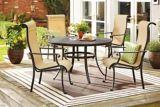 Table de jardin ronde CANVAS Covington fonte aluminium 48 po | CANVASnull
