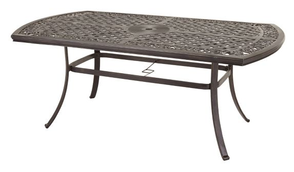 CANVAS Covington Boat Shape Patio Dining Table, 40 x 70-in Product image