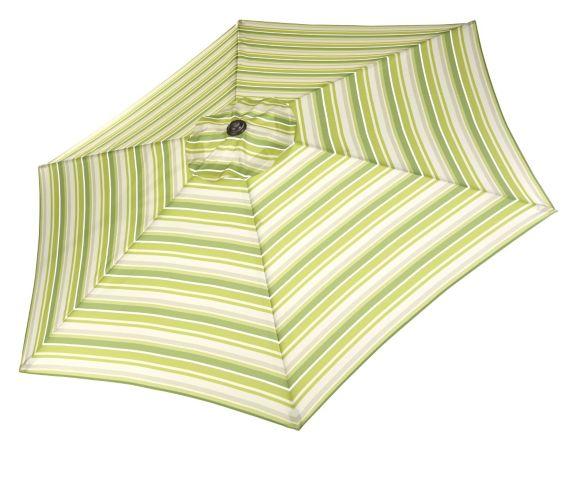 Parasol à bandes vertes CANVAS Image de l'article