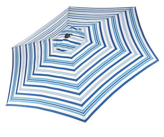 Parasol à bandes bleues CANVAS Image de l'article